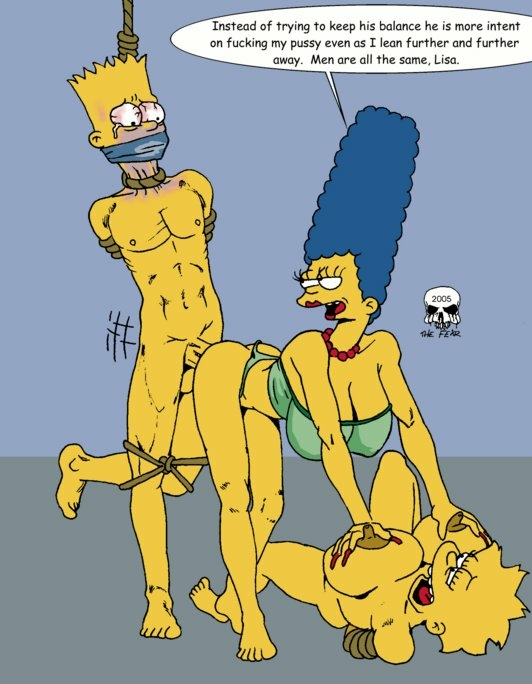 fear marge and the bart imagefap Lilo and stitch porn pictures