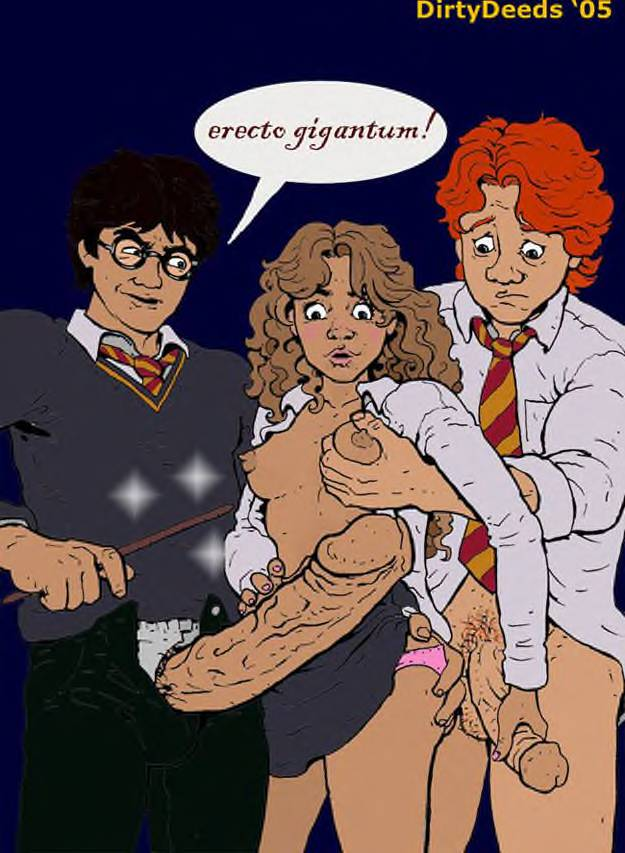 harry granger naked potter hermione Male to female transformation comics