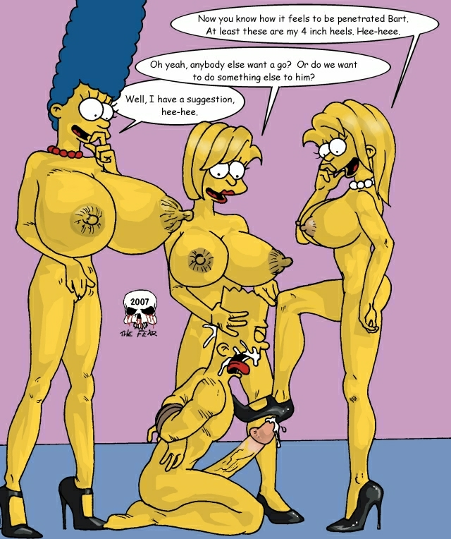 marge and the bart imagefap fear Shoujyo and the back alley