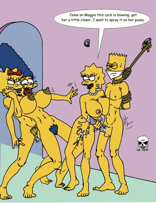 and fear the marge imagefap bart Black bubbles in bubble witch saga 2