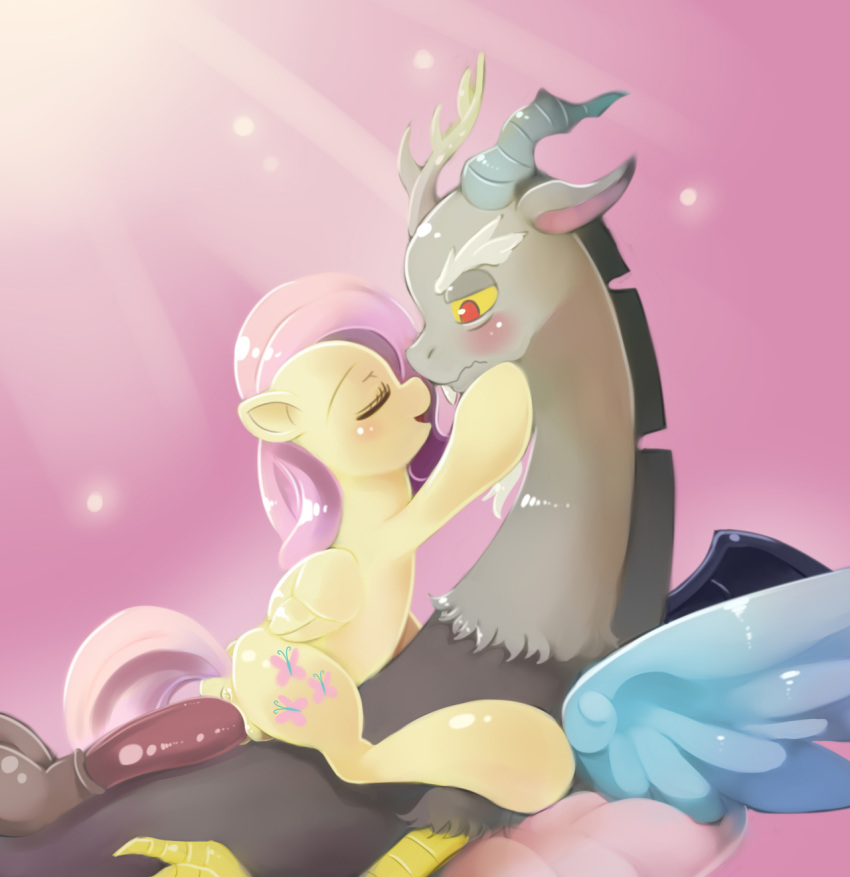 and fluttershy discord mlp fanart Breath of the wild booty
