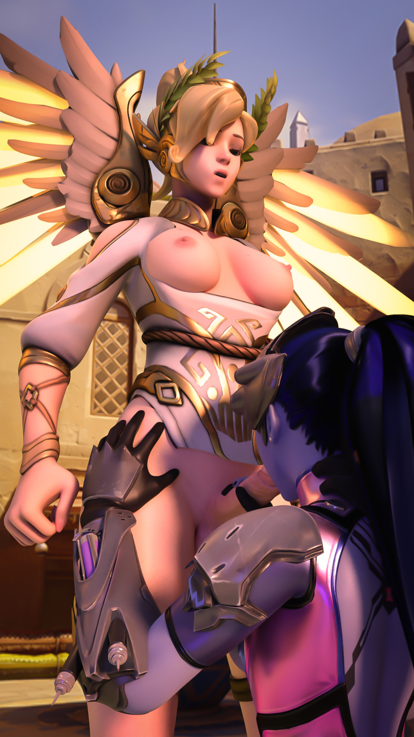 winged victory mercy Battle for dream island com