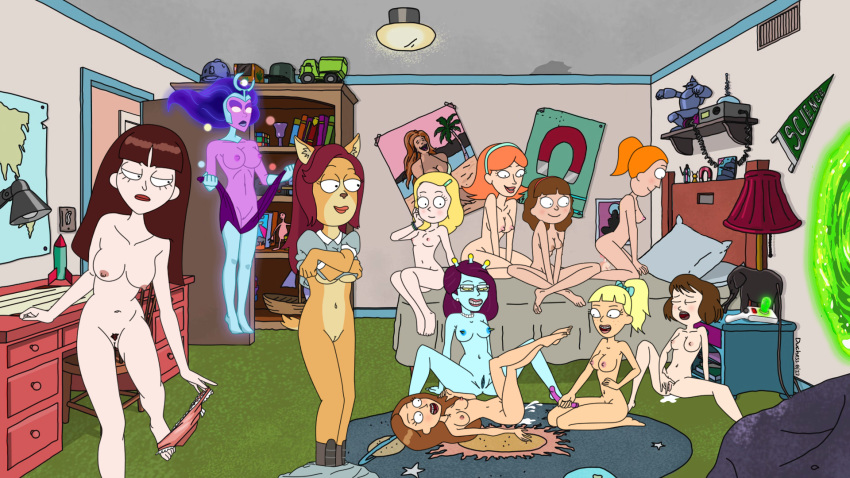 and smith beth morty rick nude Dragon ball z super beerus