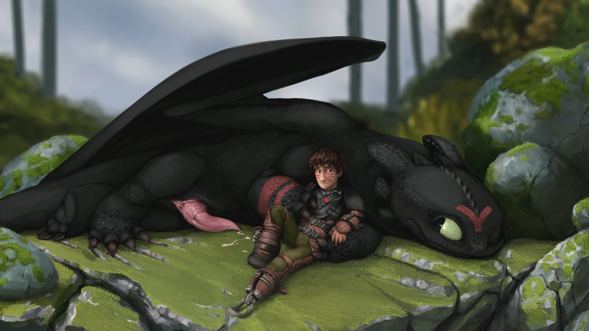 your train to how dragon yaoi Breath of the wild jules