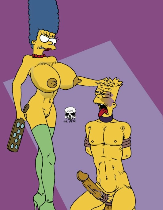 bart imagefap the and fear marge Breath of the wild fish man